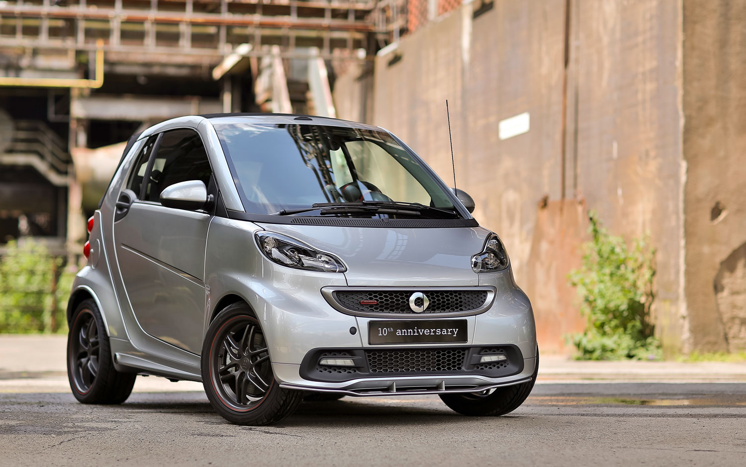 Smart Fortwo Brabus 10th Anniversary Edition Front View1