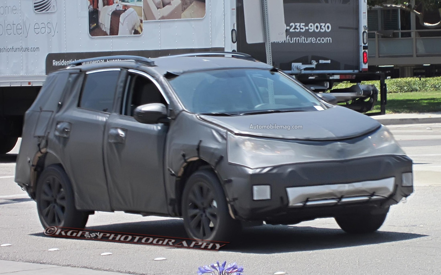 Toyota Rav4 Spied Front Three Quarter1