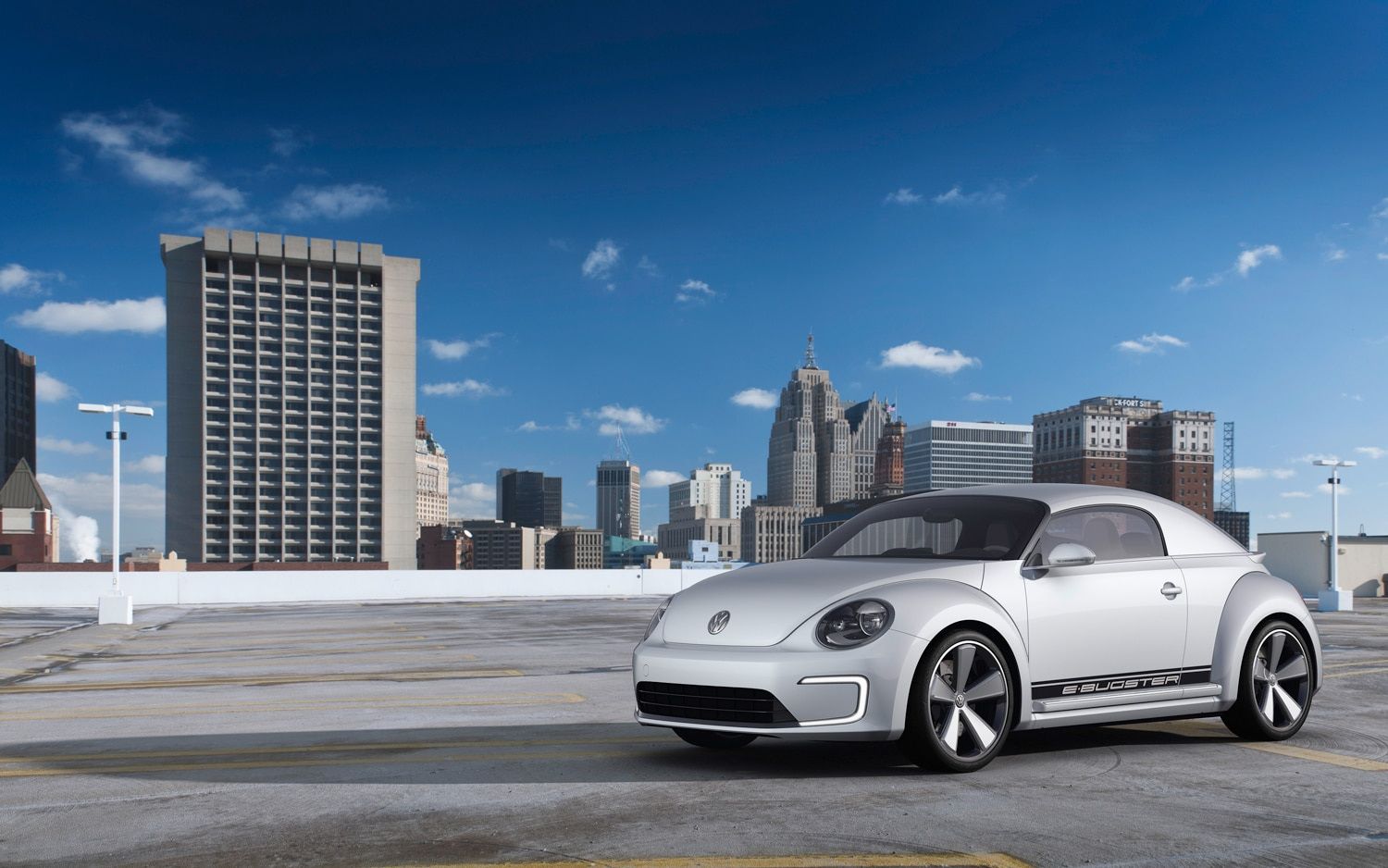 Volkswagen E Bugster Concept Front Left Side View 21