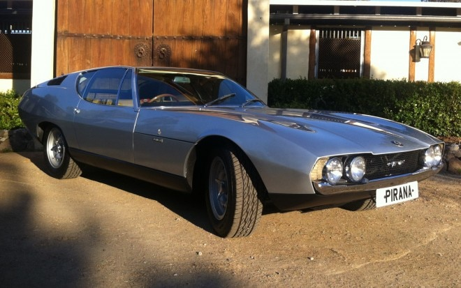 1967 Bertone Jaguar Pirana Front Three Quarters View1 660x413