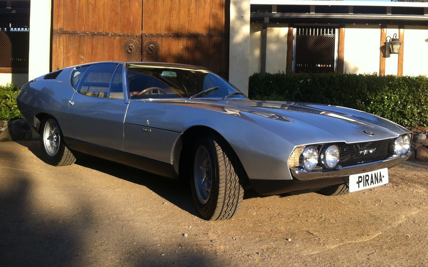 1967 Bertone Jaguar Pirana Front Three Quarters View1