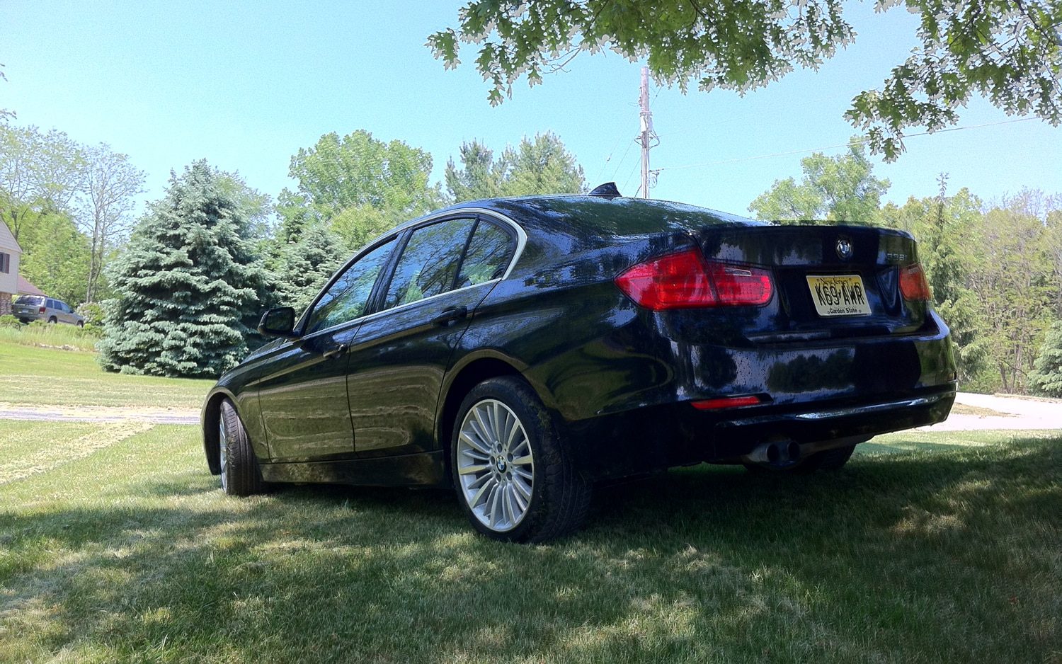 2012 BMW 328i Rear Left View1