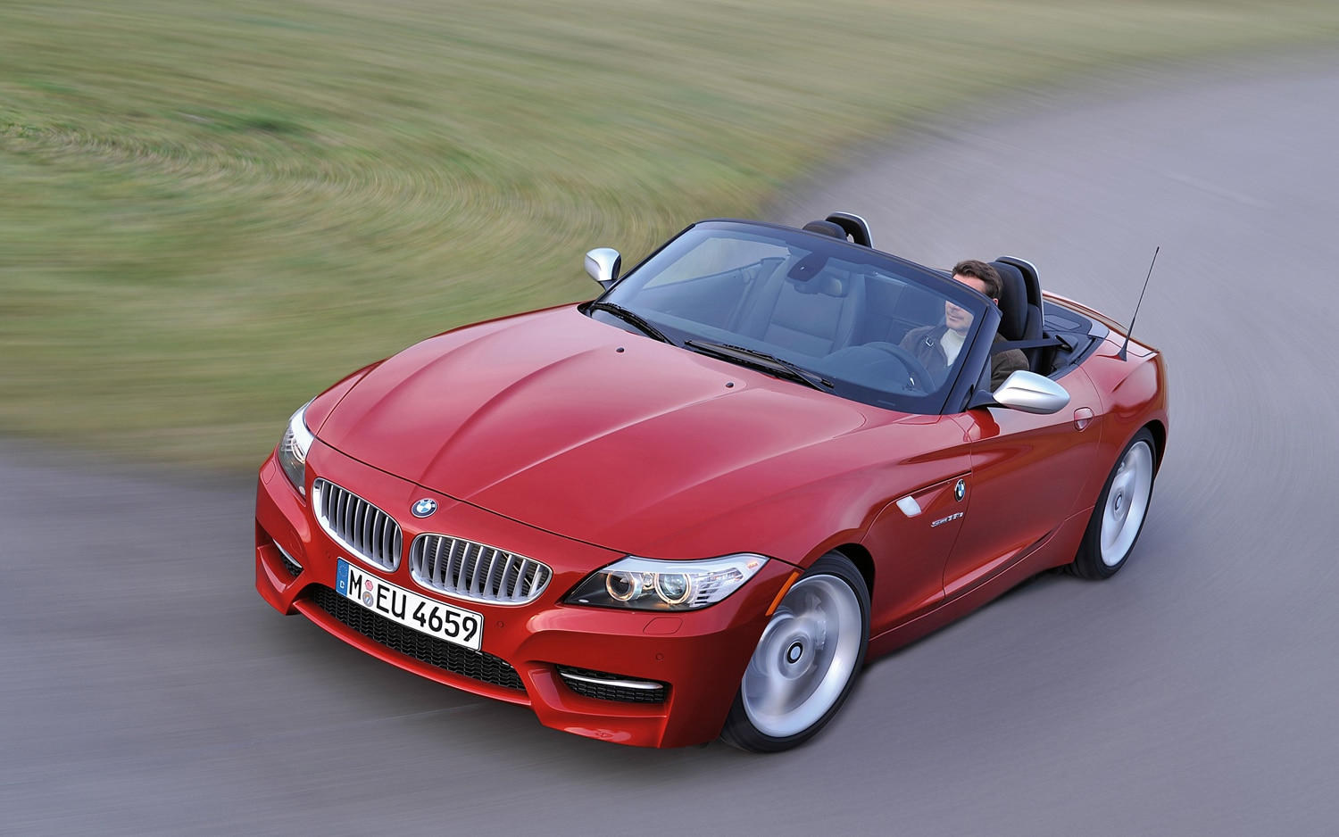 2012 BMW Z4 SDrive35is Front Three Quarter1