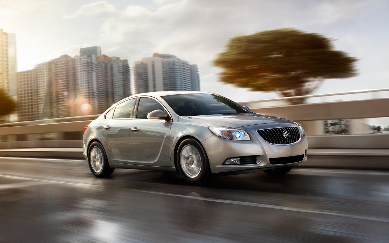 2012 Buick Regal EAssist Front Three Quarter Driving1