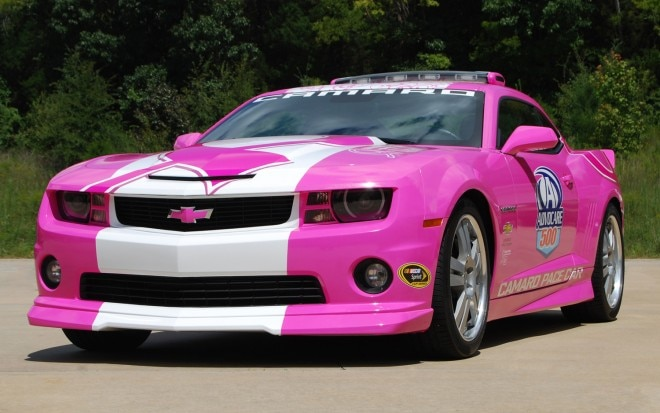 2012 Chevrolet Camaro SS Pink Pace Car1 660x413
