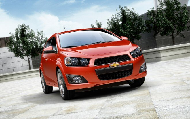 2012 Chevrolet Sonic Hatchback Front 660x413