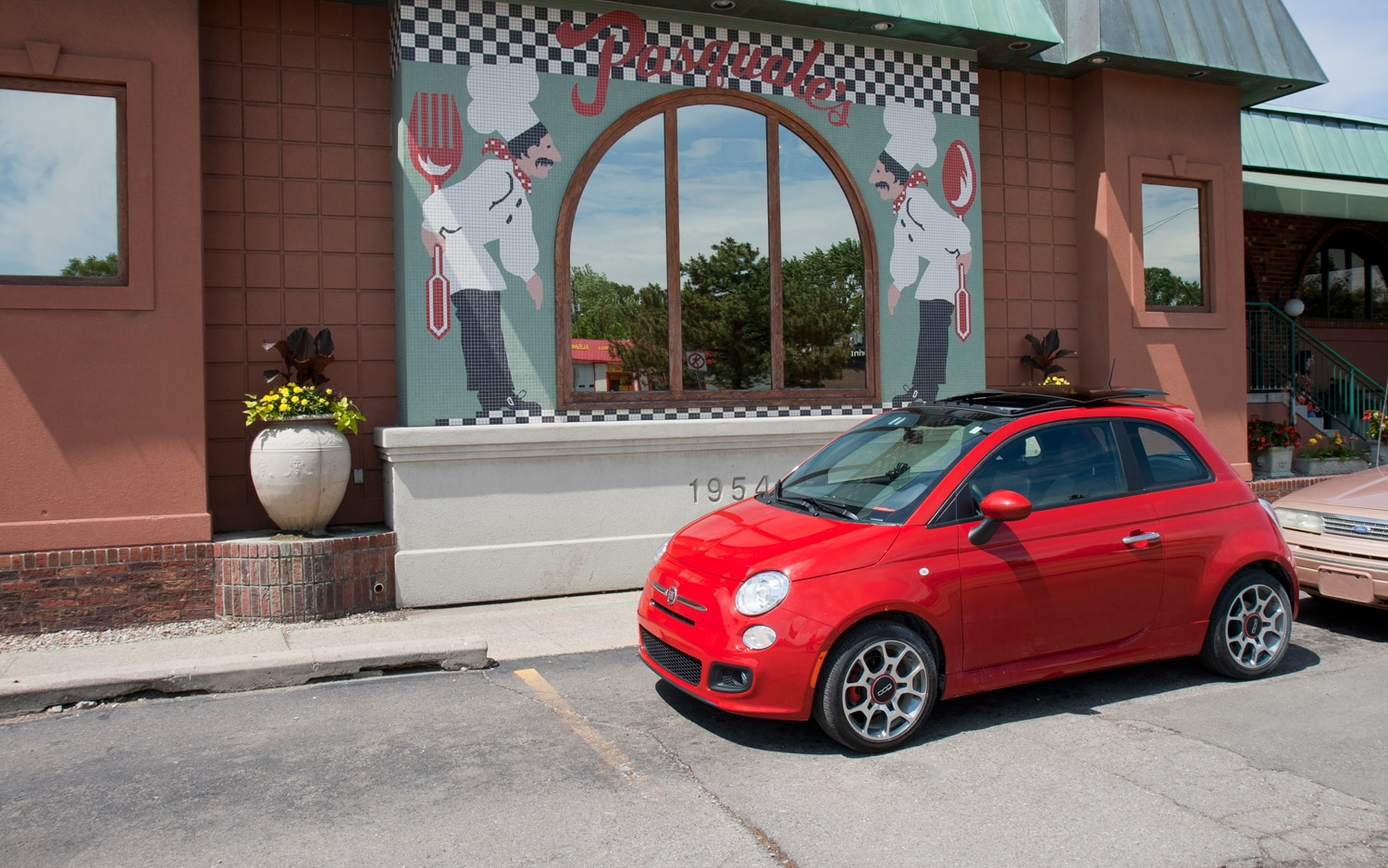 2012 Fiat 500 Sport Front Left Side View1