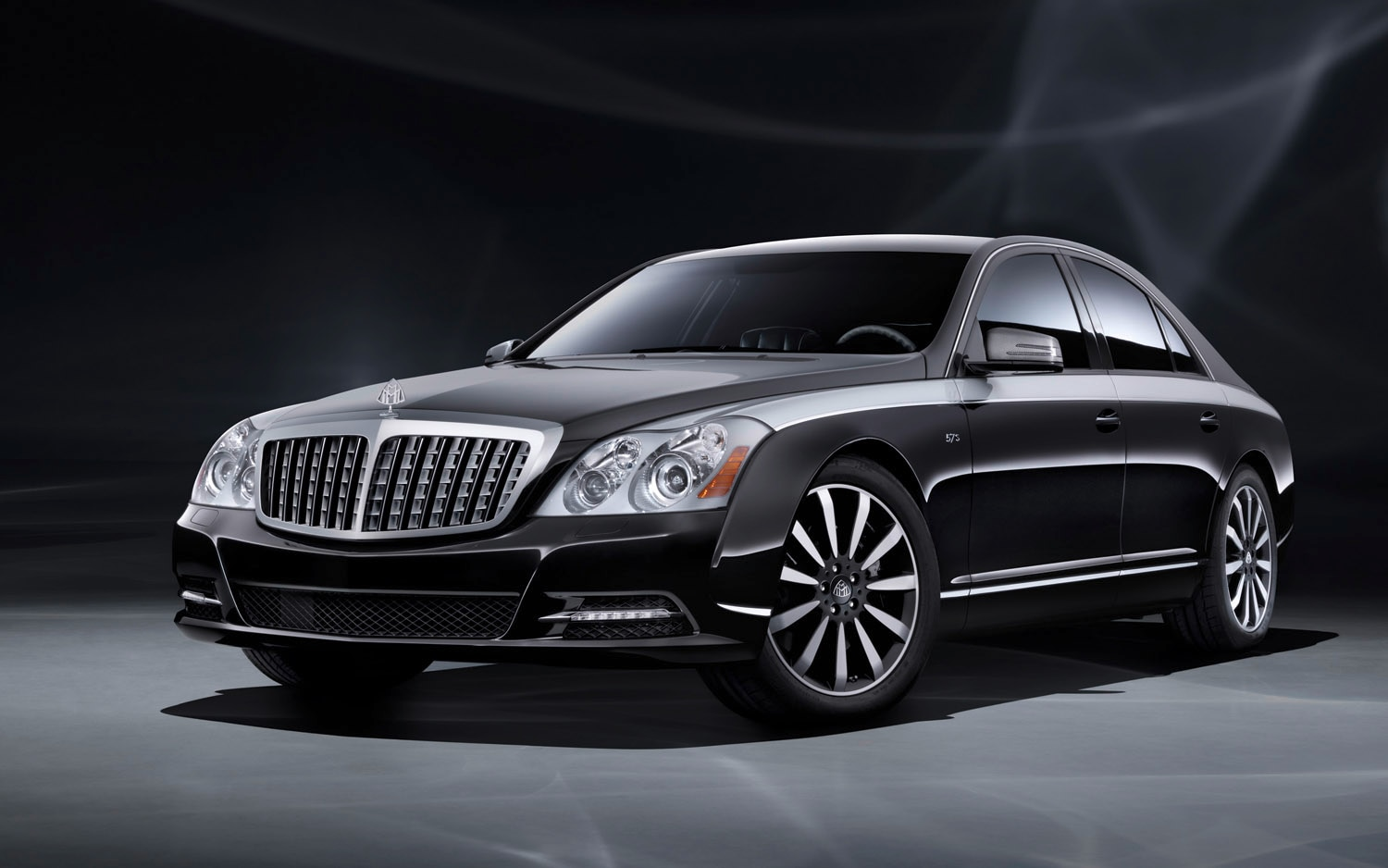 2012 Maybach 57 Edition 125 Front Three Quarter1
