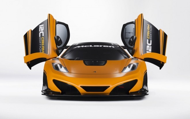 2012 McLaren MP4 12C Can Am Edition Front View Doors Open1 660x413