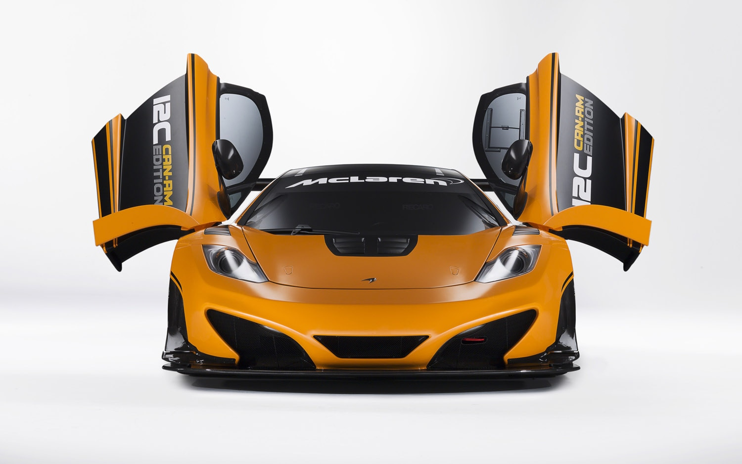2012 McLaren MP4 12C Can Am Edition Front View Doors Open1