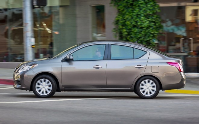 2012 Nissan Versa Sedan Profile1 660x413
