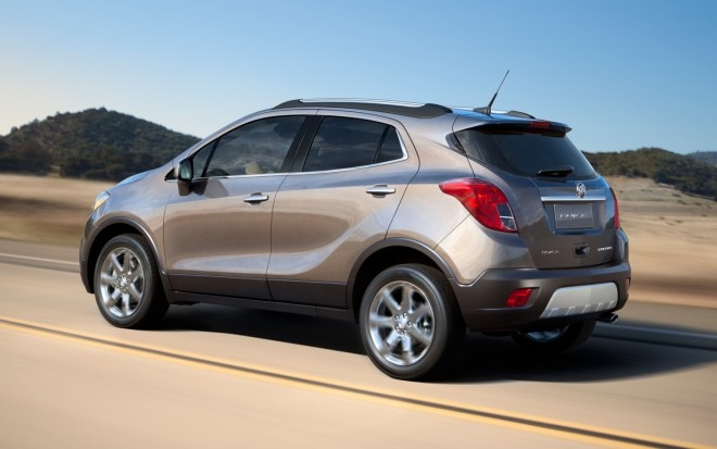 2013 Buick Encore Rear Three Quarter 11 660x413