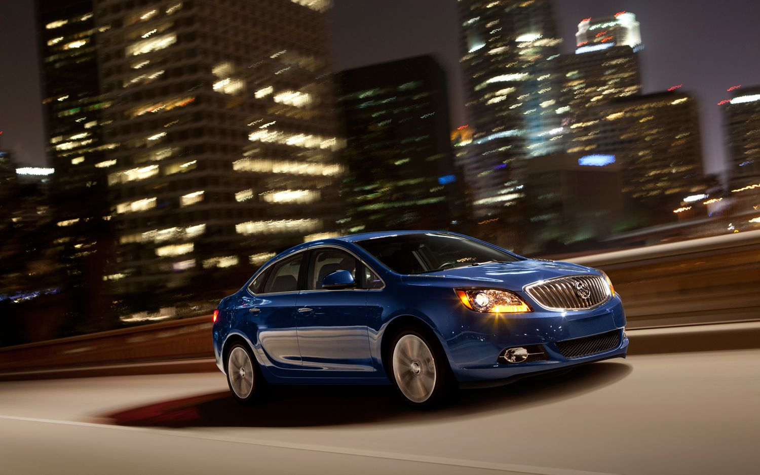 2013 Buick Verano Turbo Side In Motion1