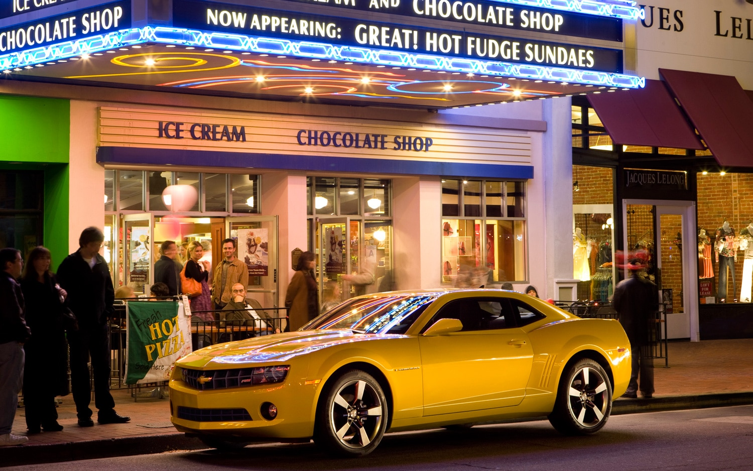 2013 Chevrolet Camaro LT Front Three Quarter1