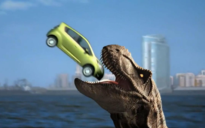 2013 Chevrolet Spark Dinosaur Snack1