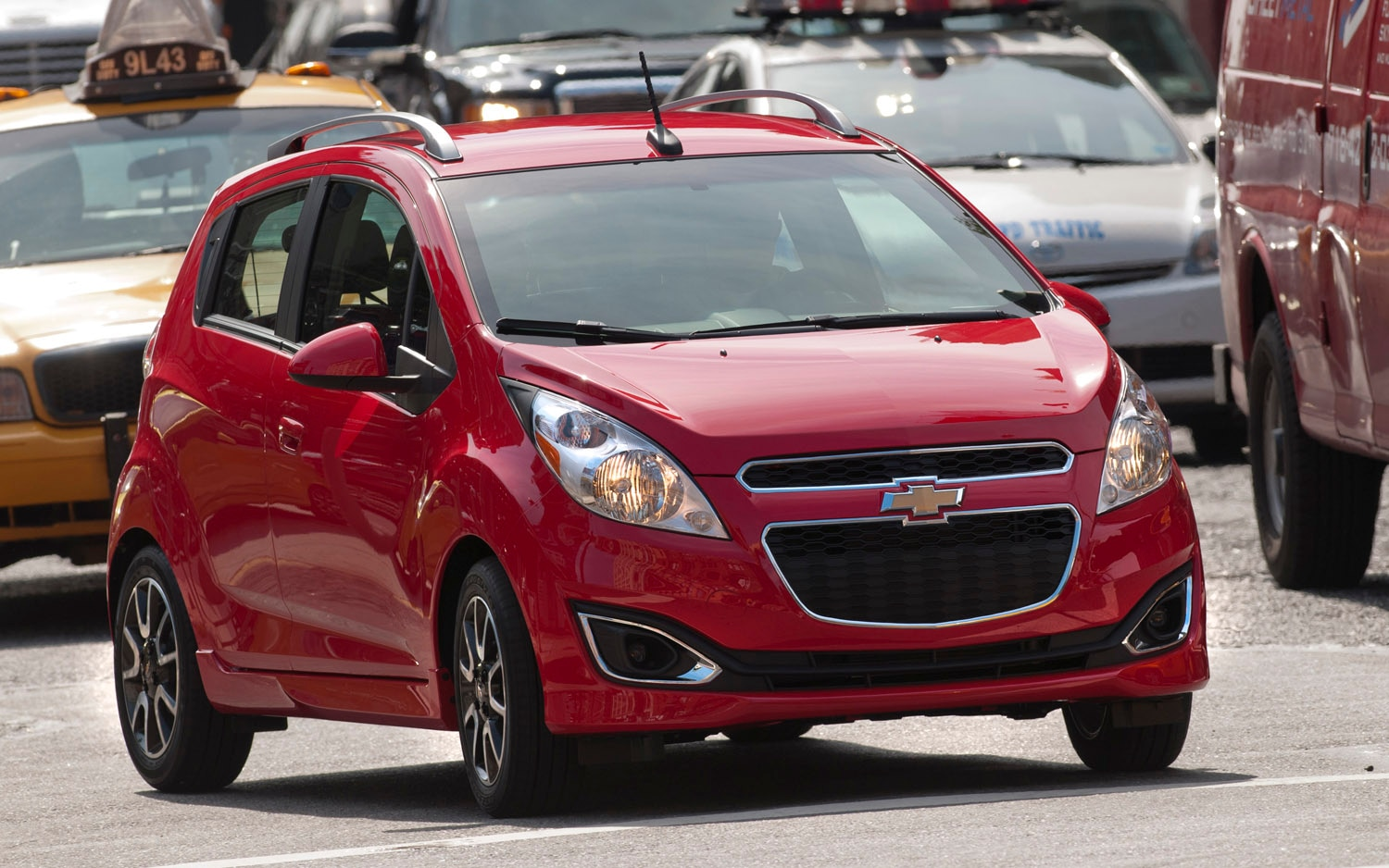2013 Chevrolet Spark Front Three Quarter NYC1