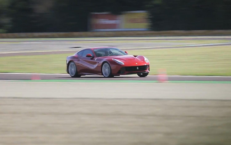 2013 Ferrari F12berlinetta Front Three Quarter On Track1