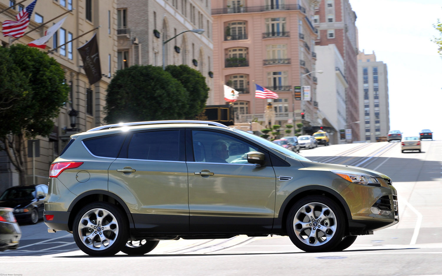 2013 Ford Escape Side View1