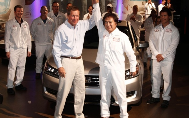 2013 Honda Accord Production With Ohio Governor1 660x413