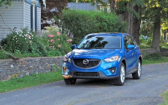 2013 Mazda CX 5 Grand Touring Front Left View 21 660x413