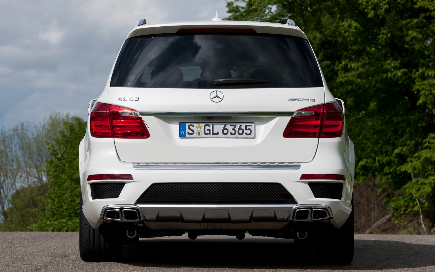 2013 Mercedes Benz GL63 AMG Rear1
