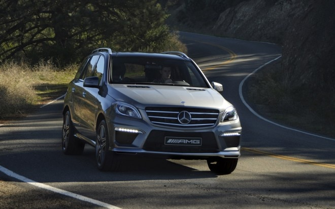 2013 Mercedes Benz ML63 AMG Front Three Quarter1 660x413