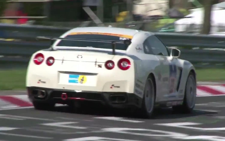 2013 Nissan GT R Race Car Rear Three Quarter1