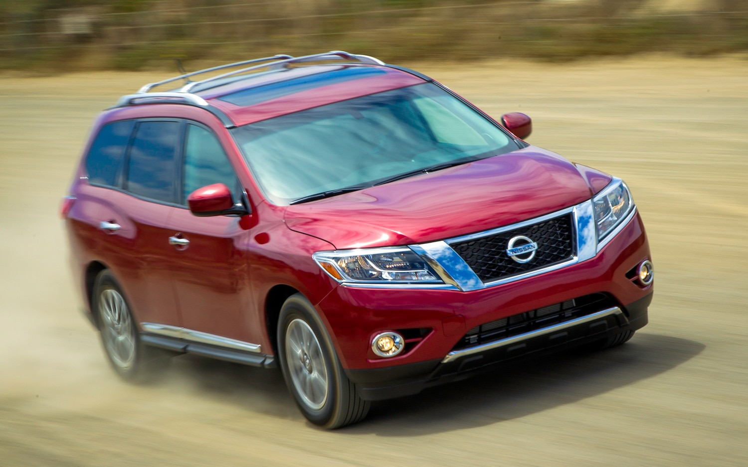 2013 Nissan Pathfinder At Speed11