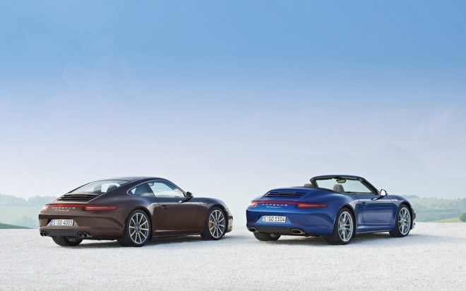 2013 Porsche 911 Carrera 4S And Carrera 4 Rear Right View1 660x413
