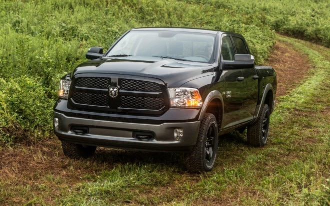 2013 Ram 1500 Outdoorsman Front Three Quarter1 660x413