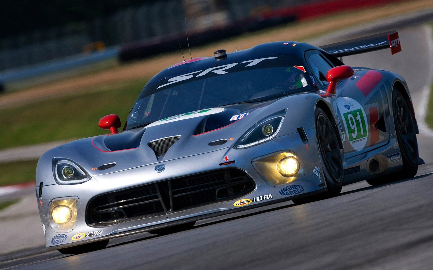2013 SRT Viper GTS R Car 91 At Mid Ohio1