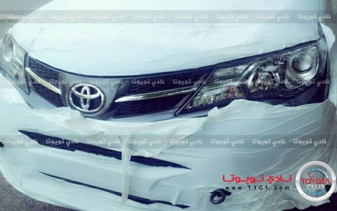 2013 Toyota RAV4 Possible Front View Leaked Photo1 660x413