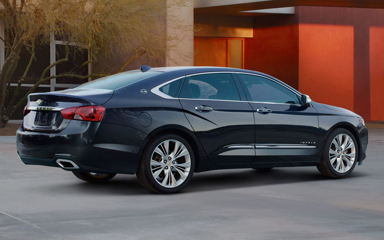 2014 Chevrolet Impala Rear Three Quarter Passenger Side1