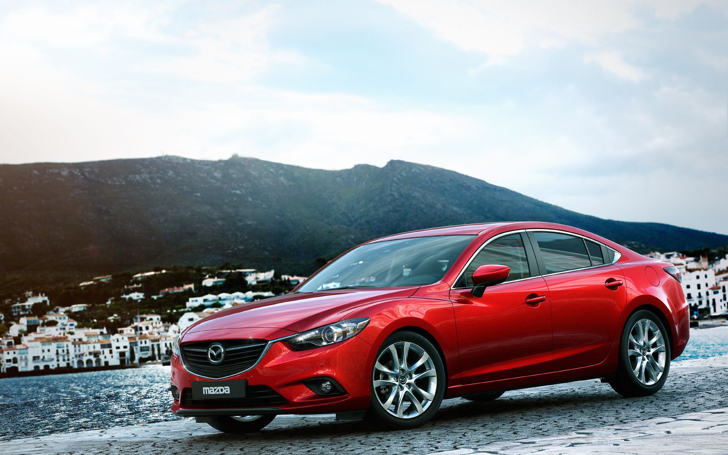 2014 Mazda6 Front Left Side View 211
