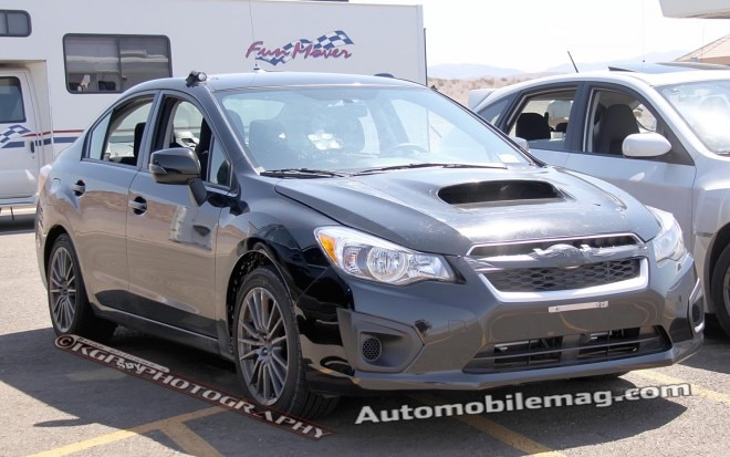 2014 Subaru WRX Front Three Quarter 11 660x413