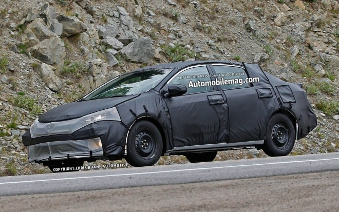 2014 Toyota Corolla Spied Front Three Quarter 111 660x413
