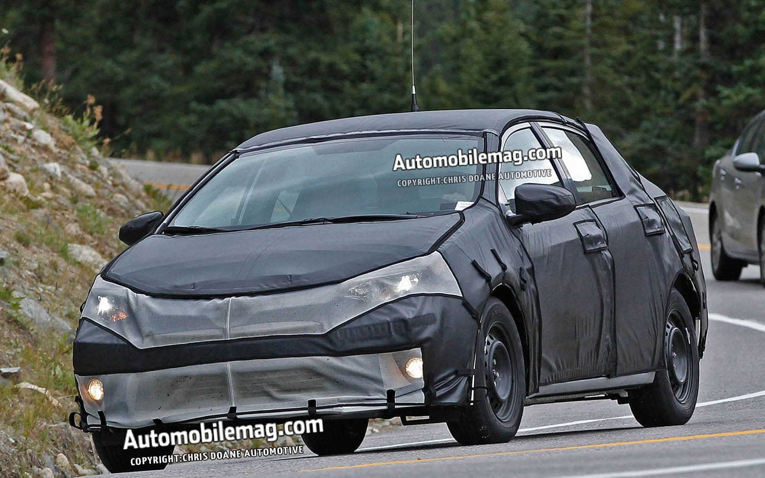2014 Toyota Corolla Spied Front Three Quarter 21