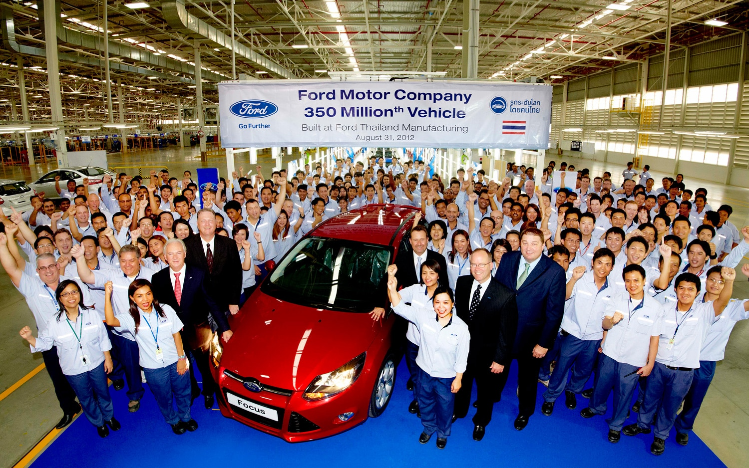 350 Millionth Ford Focus 21