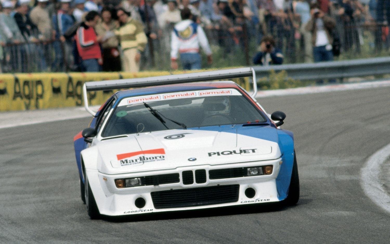 BMW M1 Race Car Front View1