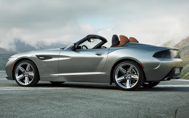 BMW Zagato Roadster Concept Rear Three Quarters View1 660x413