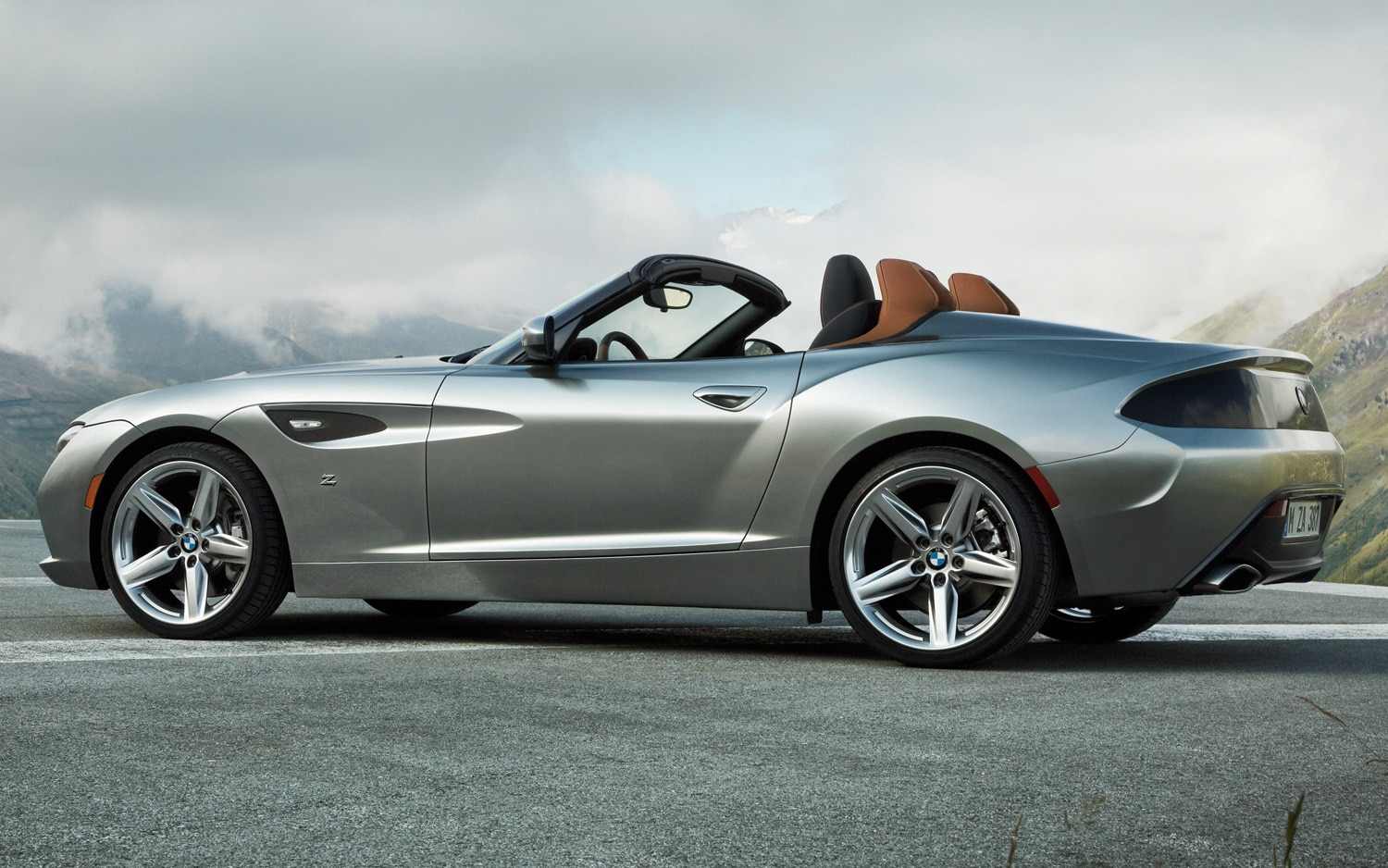 BMW Zagato Roadster Concept Rear Three Quarters View1