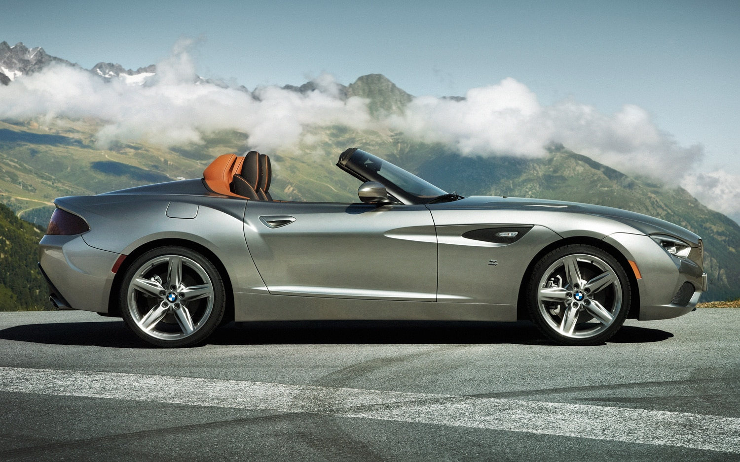 One Off Bmw Zagato Roadster Revealed Before Pebble Beach Debut