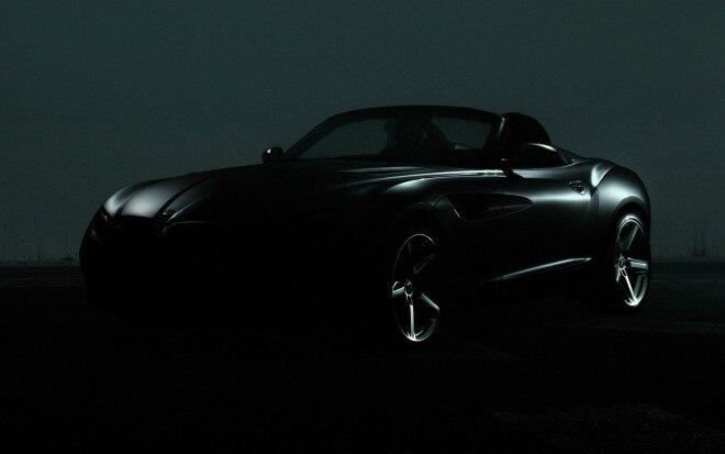 BMW Zagato Roadster Concept Teaser1 660x413