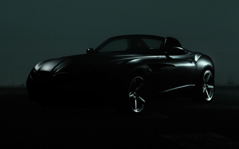 BMW Zagato Roadster Concept Teaser1