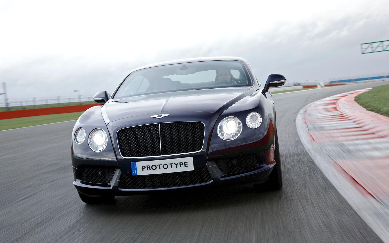Bentley Continental GT V8 Front View1