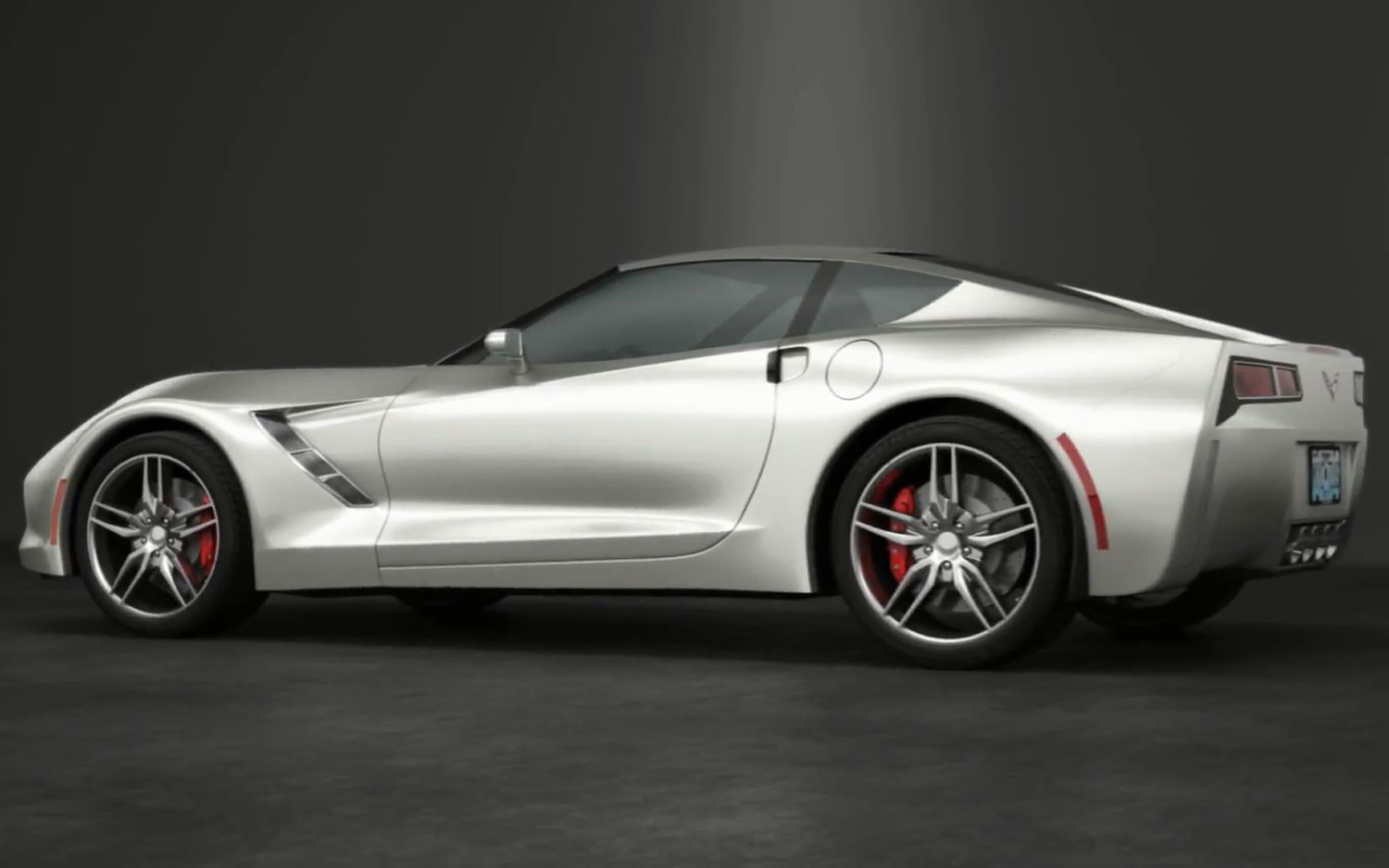 C7 Chevrolet Corvette Animation Left Rear Angle1