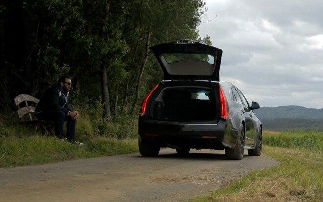 Cadillac CTS V Wagon At Nurburgring Jonny Ponderin1 660x413