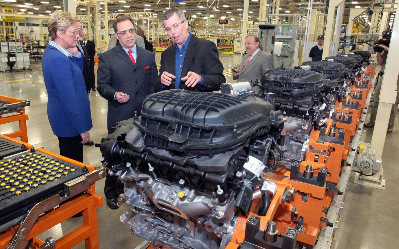Chrysler Pentastar V 6 Assembly Line 11
