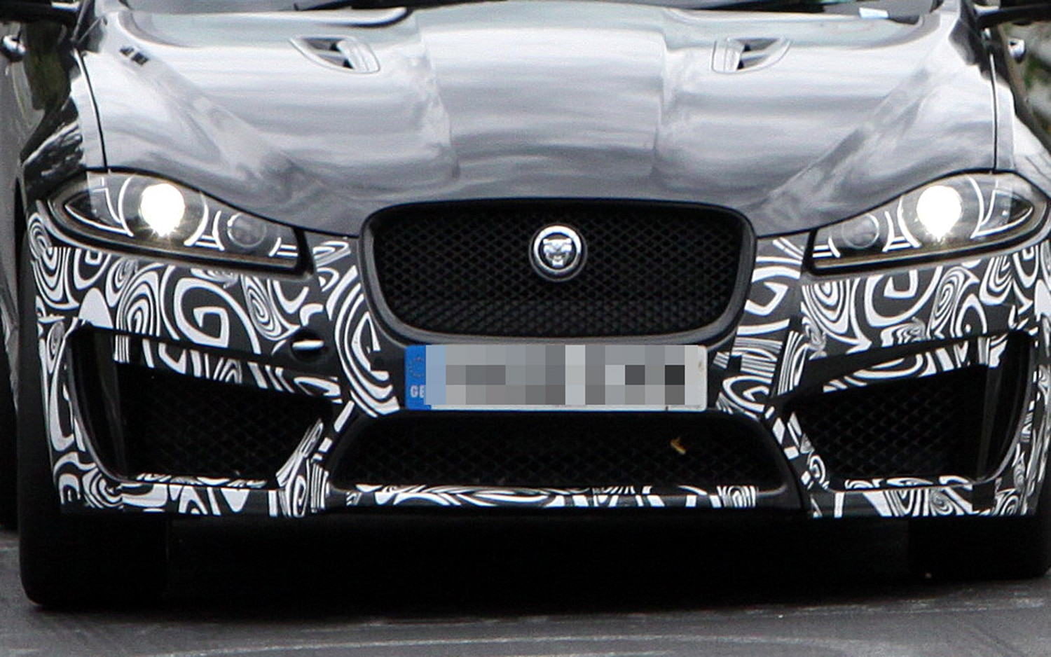 Jaguar XFR S Spy Shot