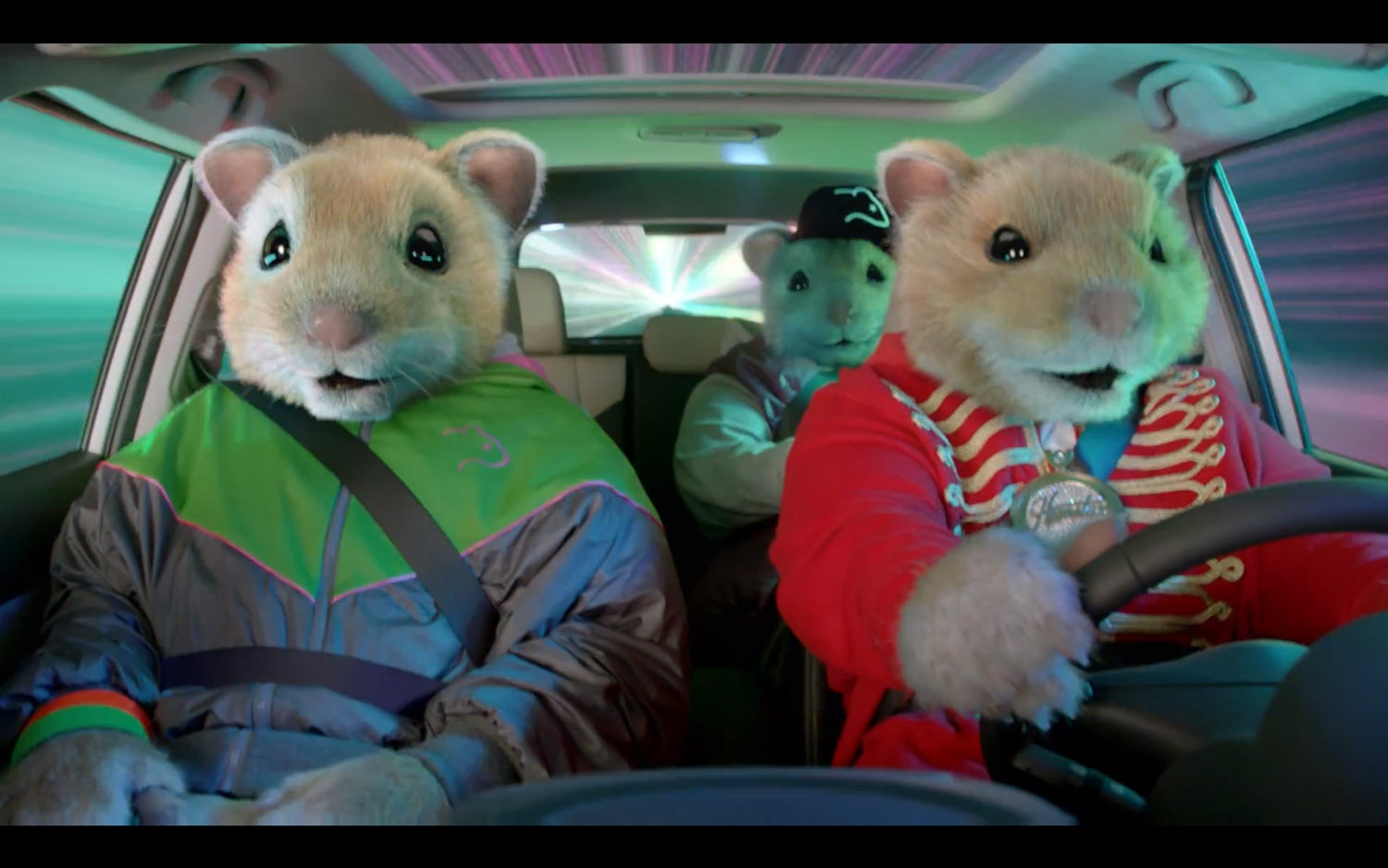 Feature Flick: Kia's Oversized Hamsters Sell Soul with ...